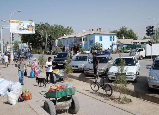 Market in Tajikistan
