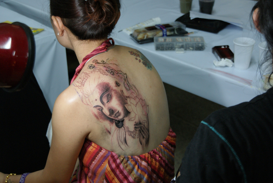 Tattoo Arts Festival in Pattaya