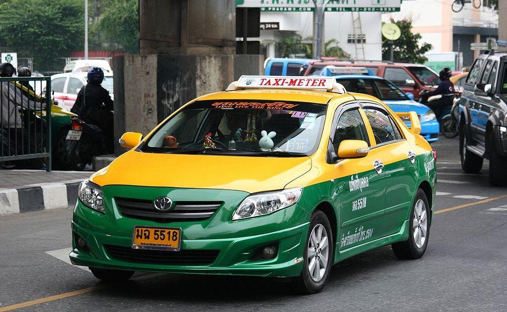 Taxi-meter in Bangkok