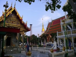 A Wat (temple) in Bang Lamung District, Pattaya