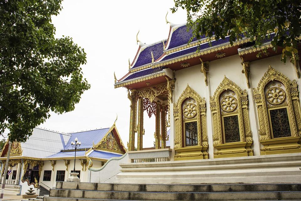 A temple in Ubolratana District, Khon Kae
