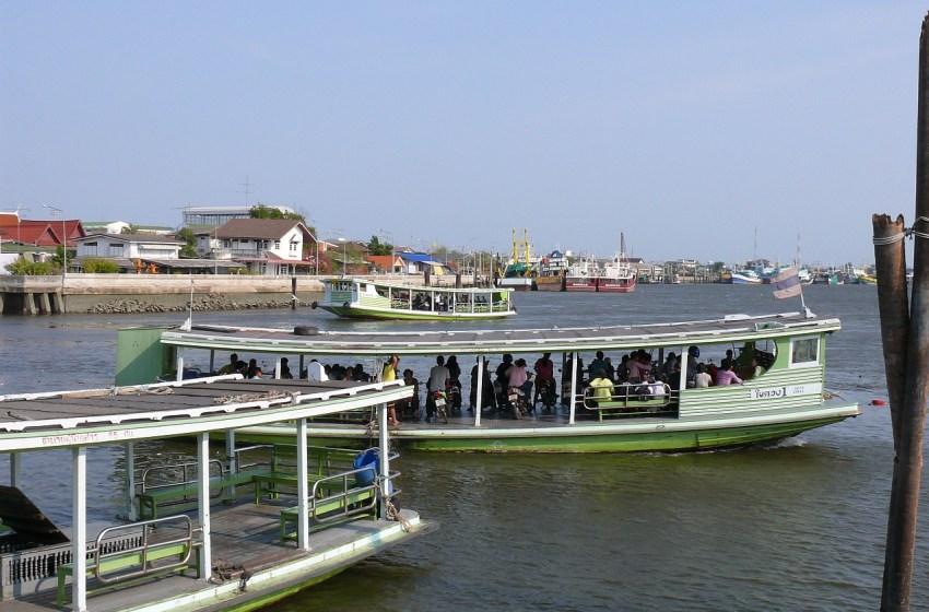 The Tha Chin River in Samut Sakhon