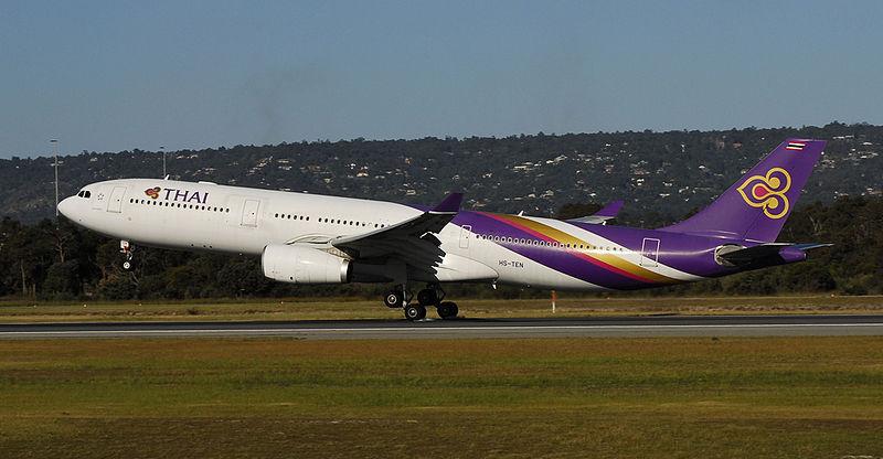 Thai Airways flight grounded after engine 'bangs' during Phuket takeoff