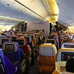 Thai Airways Boeing 777-300 heading to Bangkok from Brisbane, Australia