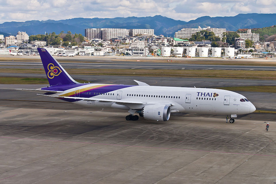 Thai Airways Boeing 787-8 Dreamliner