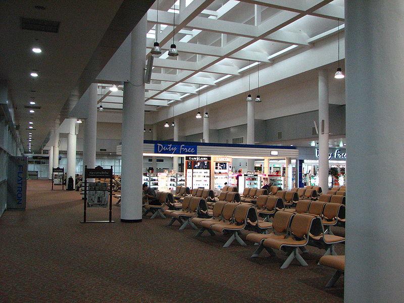 Chiang Mai Airport International Departure Hall
