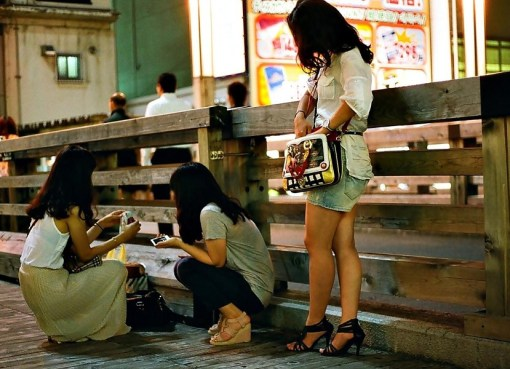 Thai girls on the street