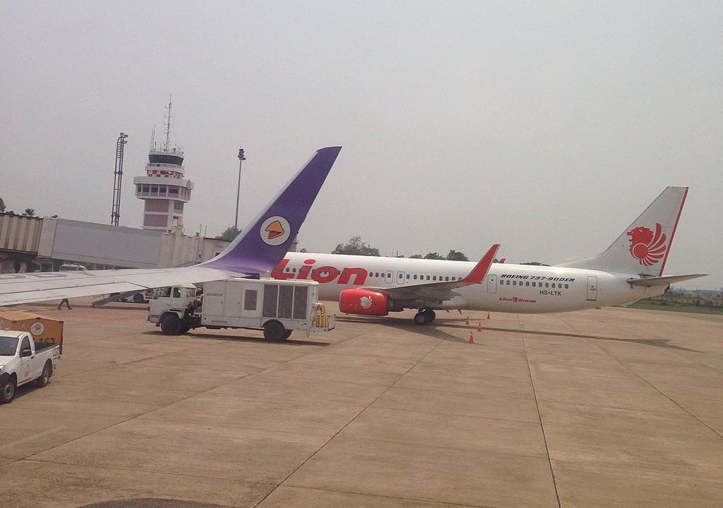 Aircrafts at Ubon Ratchathani Airport