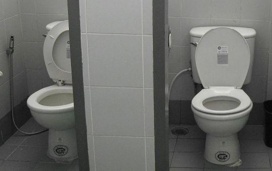 Toilets in Thailand
