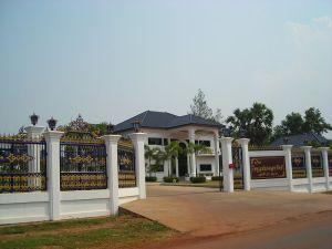 Thai villa near Na Wa, Nakhon Phanom province
