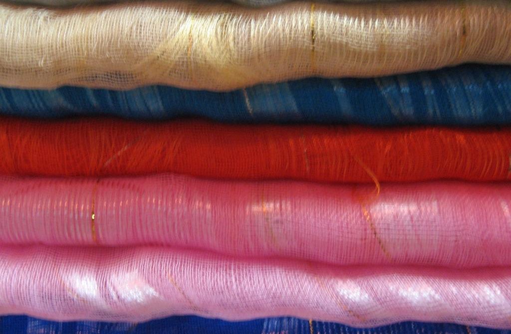 The popular Thai silk