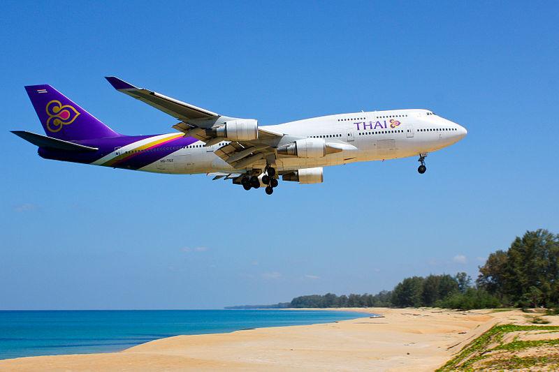 Thai Airways cancels Phuket and Krabi flights amid tsunami threat
