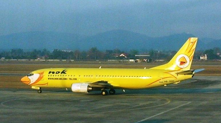 Nok Air Boeing 737-400 aircraft