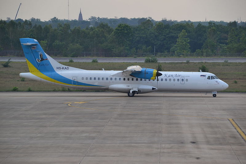KanAir aircraft at Khon Kaen Airport