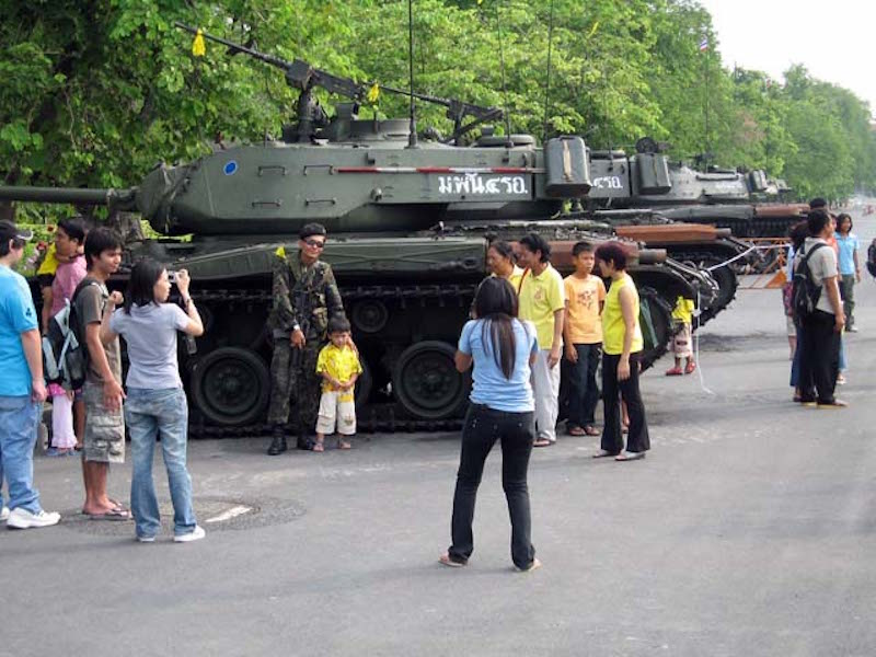 Coup d'etat in Thailand on 24 September 2006 in Bangkok