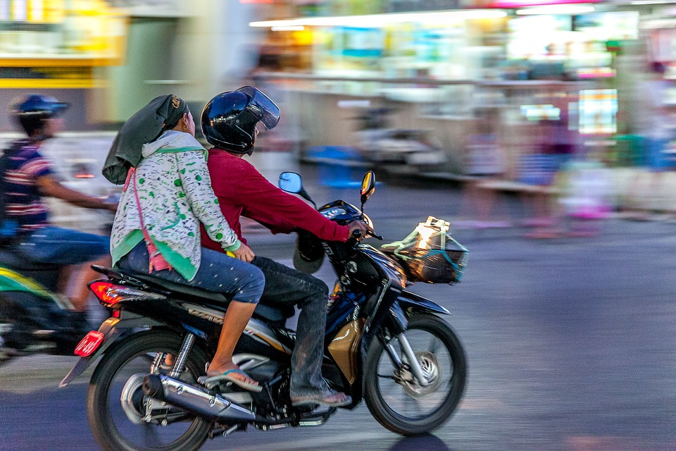 Study shows fewer than half of Thailand's motorcycle users wear helmets