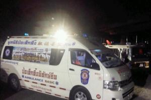 Drunk Korean argues with the cops after carnage in South Pattaya