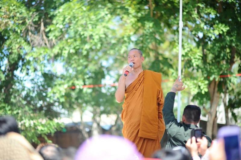 Thai 'monk' Phra Buddha Issara