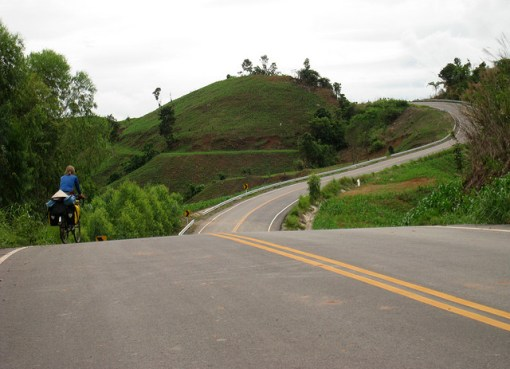Cycling in Lom Sak