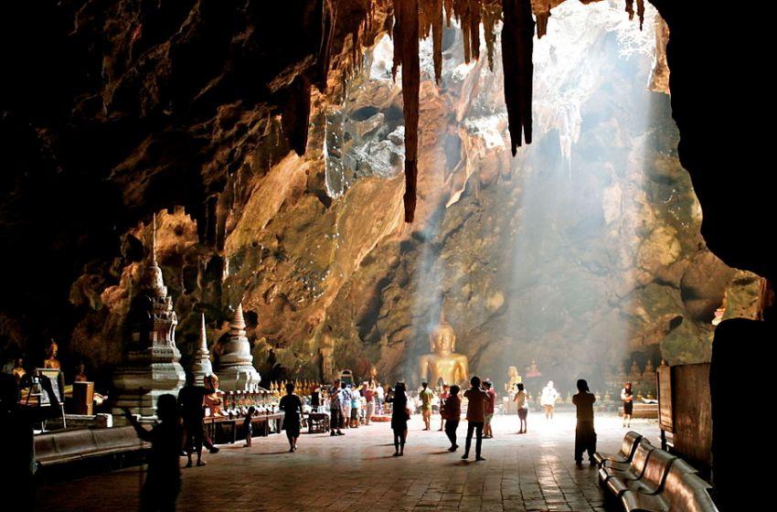 Tham Khao Luang Cave in Thong Chai, Phetchaburi