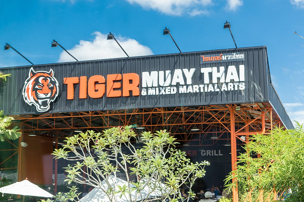 Tiger Muay Thai in Chalong, Phuket