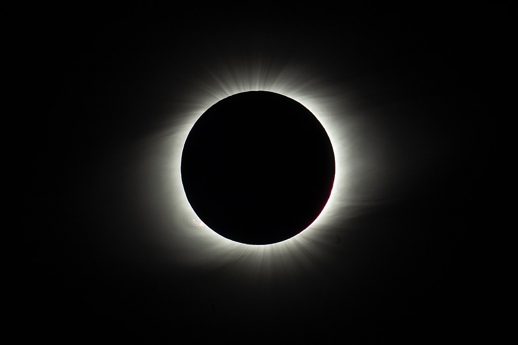 Total solar eclipse 2019 at La Silla Observatory, Chile