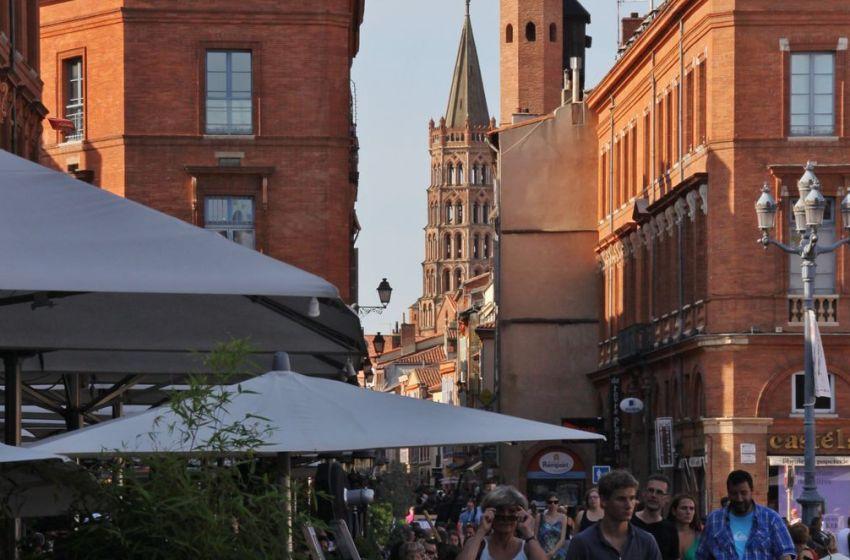 Place du Capitole in Toulouse, France