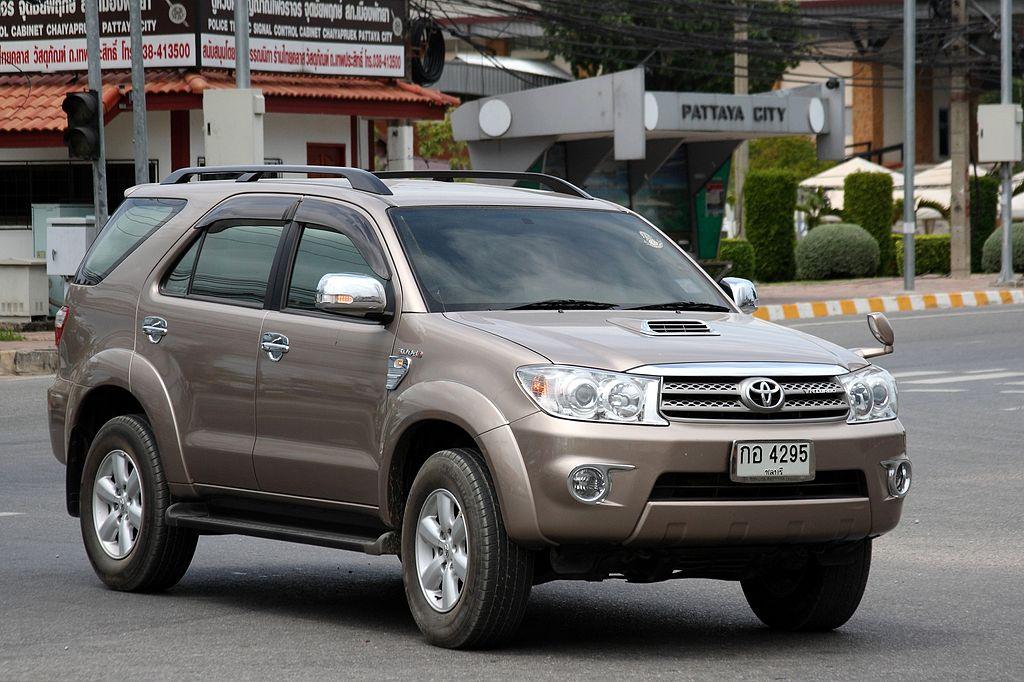 Toyota Fortuner in Pattaya, Chonburi