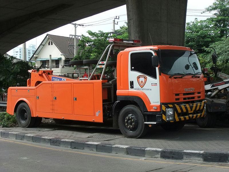 ISUZU FTR 240 Tow truck Thai Traffic Police