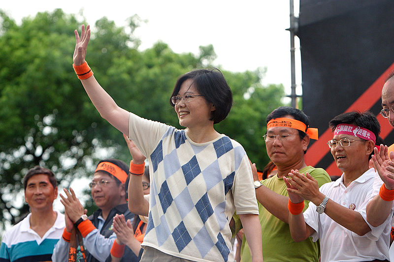 Tsai Ing-wen the President of Taiwan