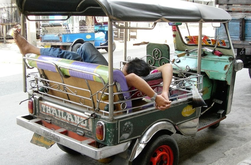 COVID-19: Tuk-tuks turn from tourist darling to parcel delivery