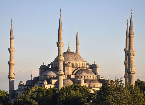 Sultan Ahmed I Mosque in Istanbul, Turkey