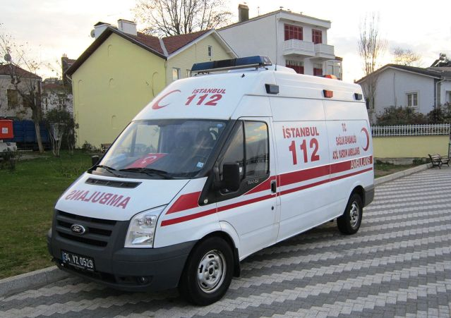 Turkish policeman tries to kill self, causes panic at hospital