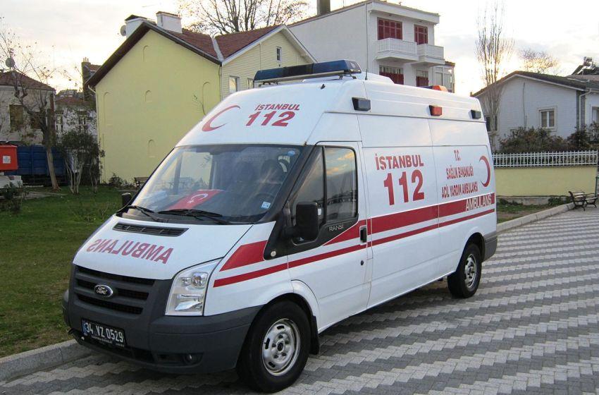 Ambulance in Istanbul, Turkey