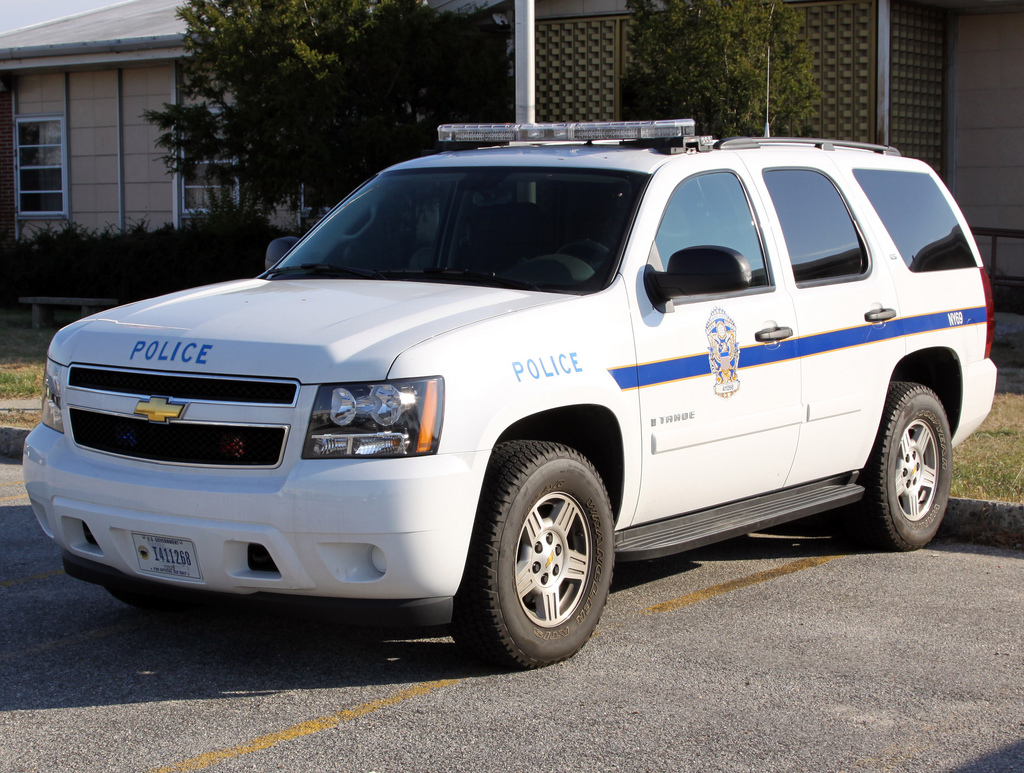 U.S. Parks Police New York Field Office Chevrolet Tahoe