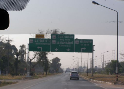 Ubon - Sisaket road