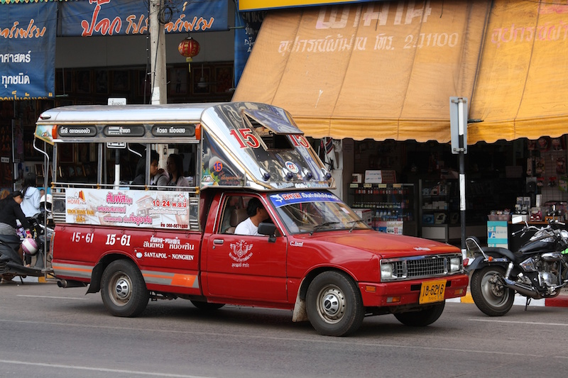 A Songthaew in Udon Thani