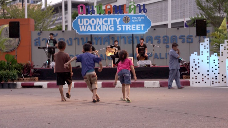 UDONCITY Walking Street in Udon Thani