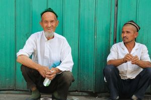 Uyghurs in Turpan, the far west of China