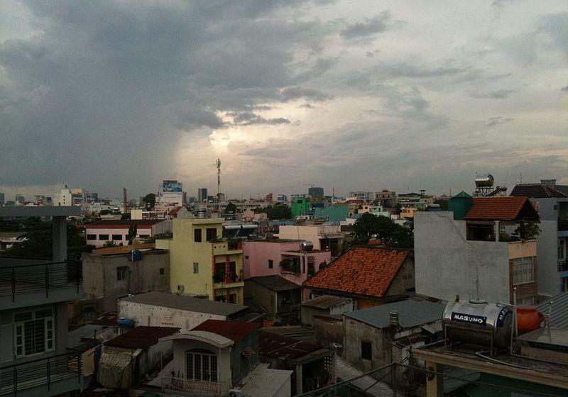 Tropical Storm Pakhar en route to Vietnam