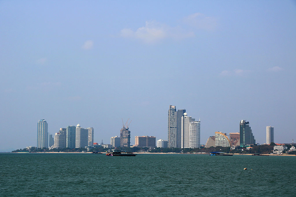 View of Naklua in North Pattaya