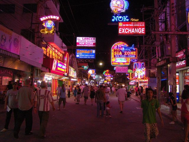 Australian National arrested for theft on Walking Street