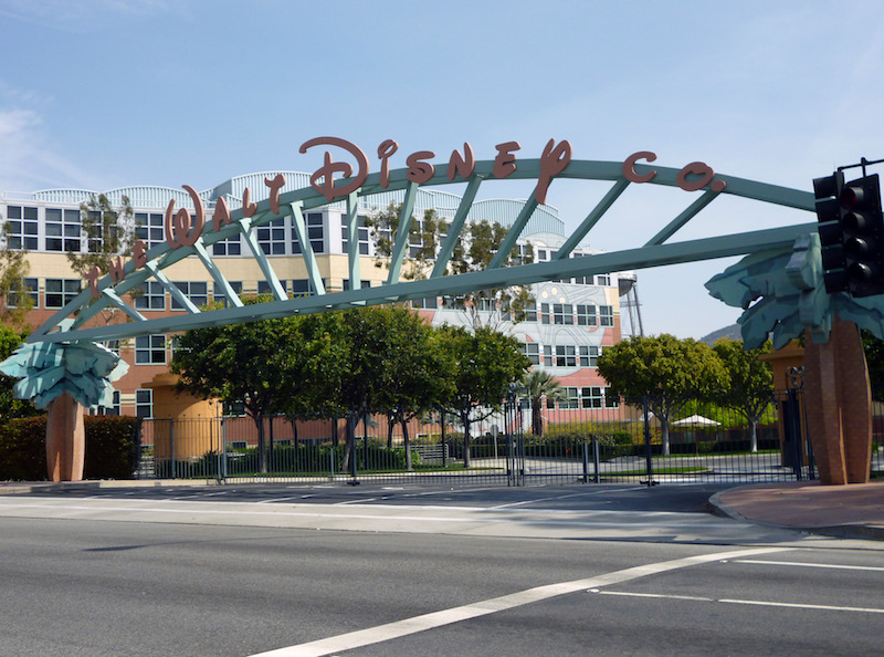 Walt Disney Studios in California