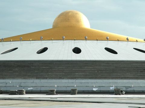 UFO Memorial Hall, at Wat Dhammakaya in Rangsit