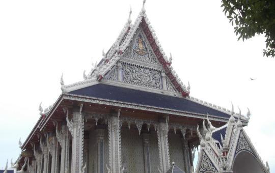 Wat Sai temple in Rama III Rd, Bangkok