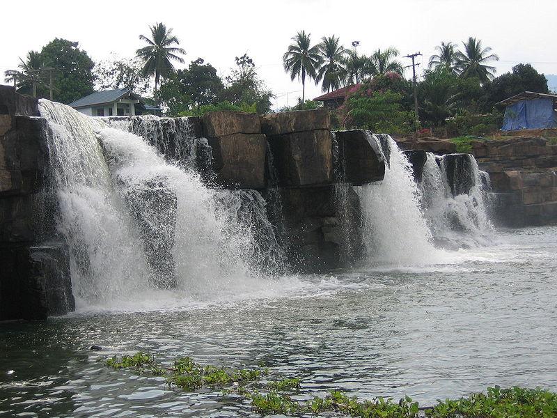 Poi Waterfall in Thung Salaeng Luang National Park, Phetchabun Province