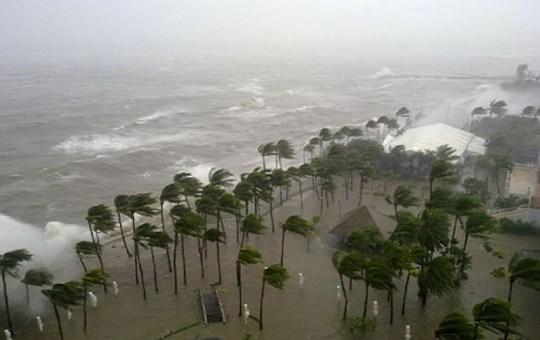 Sofitel Philippine Plaza during Typhoon Nesat