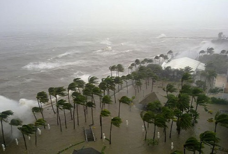 Sofitel Philippine Plaza during Typhoon Nesat