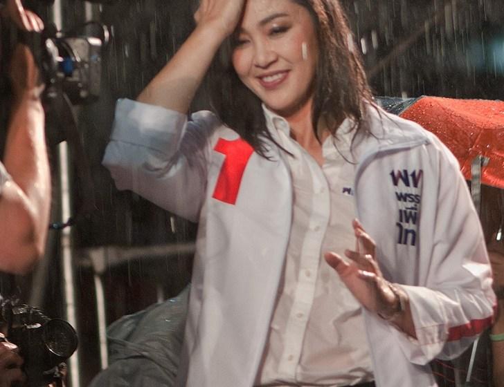 Yingluck Shinawatra wins the general election