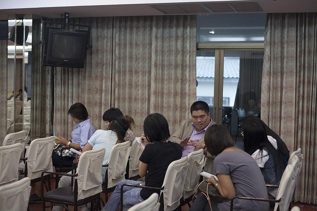 Young Liberals and Democrats of Asia at Democrat Party HQ